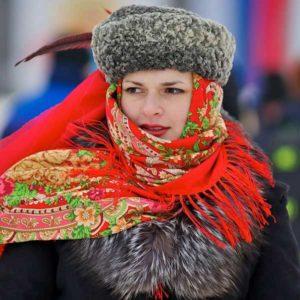 Rosyjska sukienka
